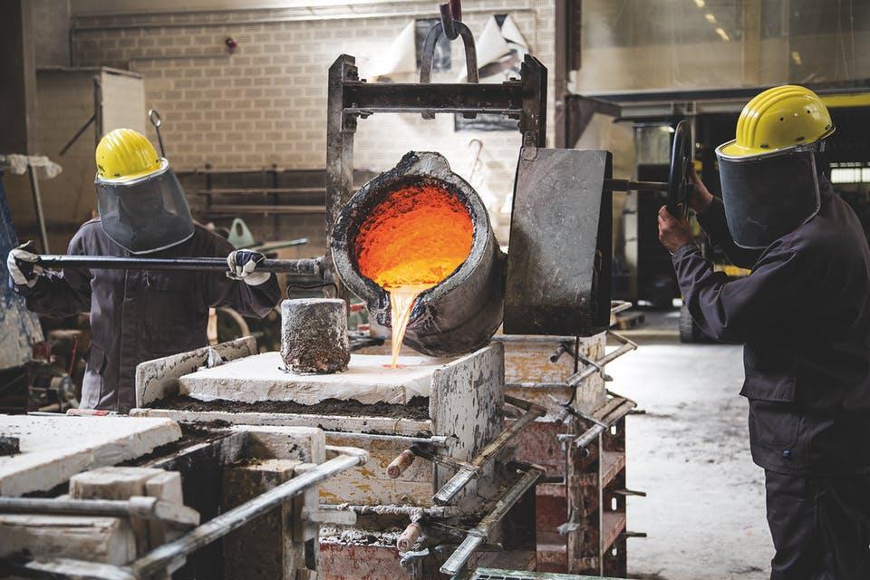 Entstehung einer Bronzeskulptur im Wachsausschmelzverfahren