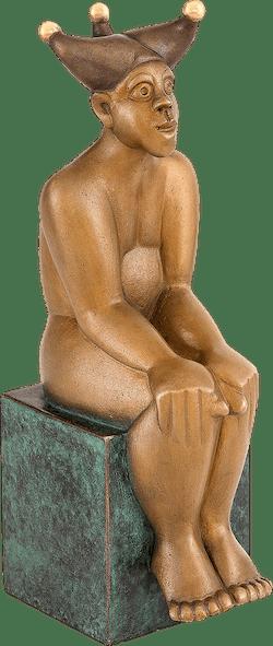Bronzefigur Der Narr von Stefan Donhauser