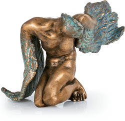 Bronzeskulptur-Phoenix