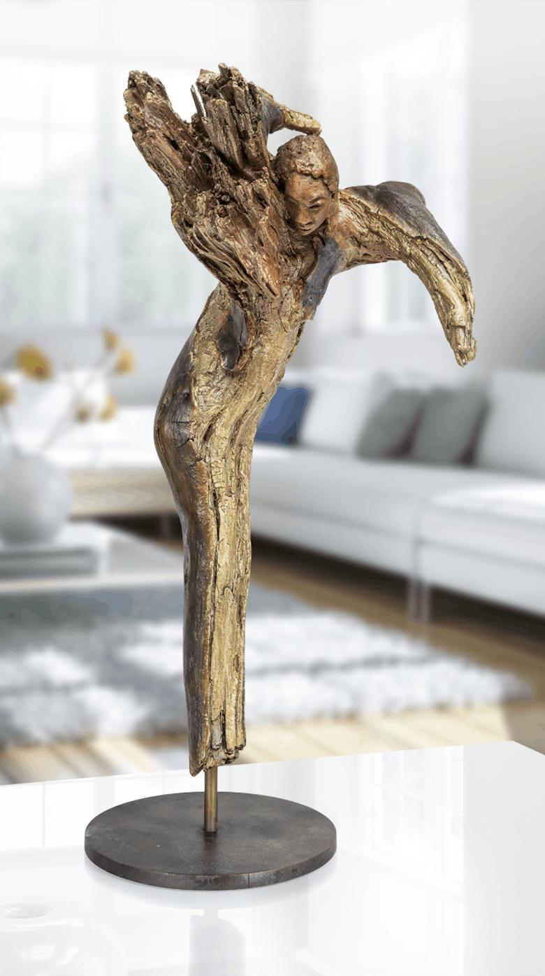 Bronzefigur Cherub von Maria-Luise Bodirsky
