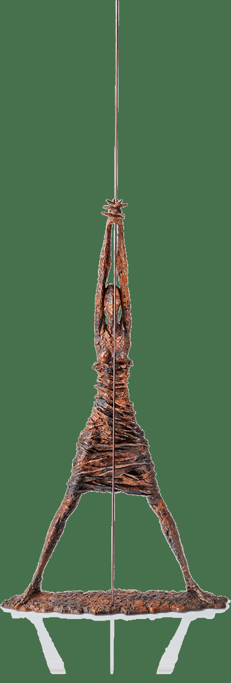 Bronzefigur »Afrikanerin mit Speer« von Vitali Safronov