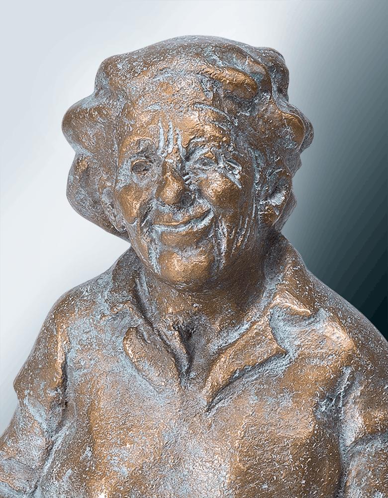 Bronzefigur Märchenstunde von Zilly