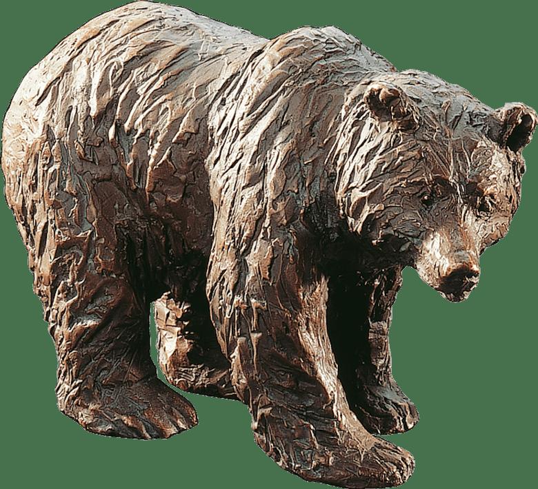 Bronzefigur Bär von Gabriele Haslinger