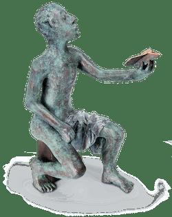 Bronzefigur Jasons Sohn von Anna K. Kleeberg