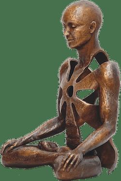 Bronzefigur Excell von Sukhi Barber