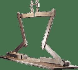 Bronzefigur Millennium von Michel Favre