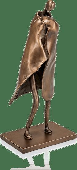 Bronzefigur »Nach dem Bade«, stehend von Pieter Sohl