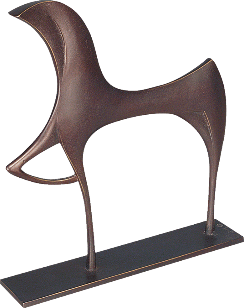 Bronzefigur Pferd von Torsten Mücke
