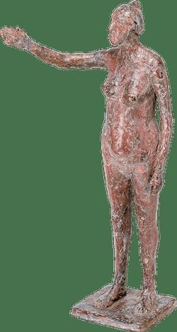 Bronzefigur Anna von Gudrun Rienhardt