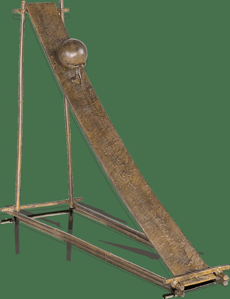 Bronzefigur Toboggan von Michel Favre
