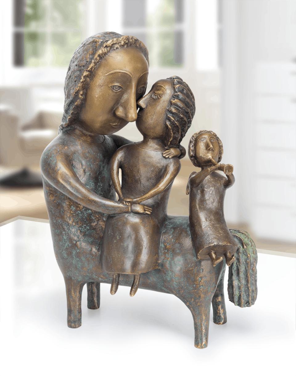 Bronzefigur Centaur von Natalia Obada