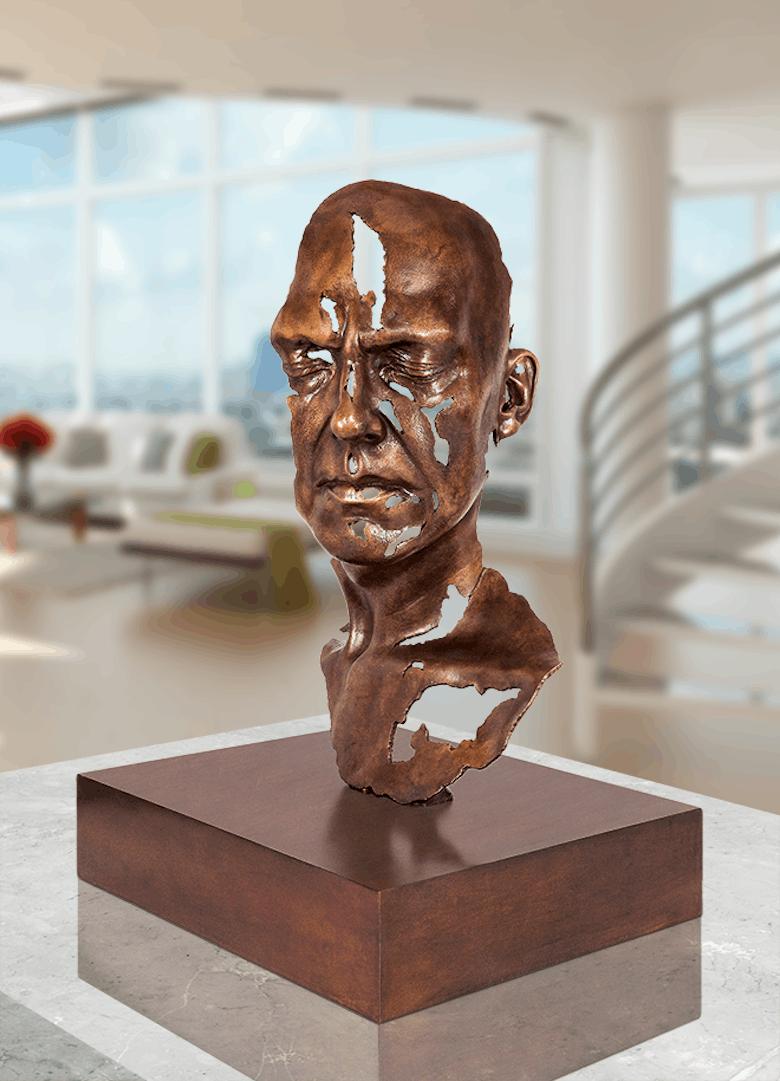 Bronzefigur Fragment II von Jamie Salmon