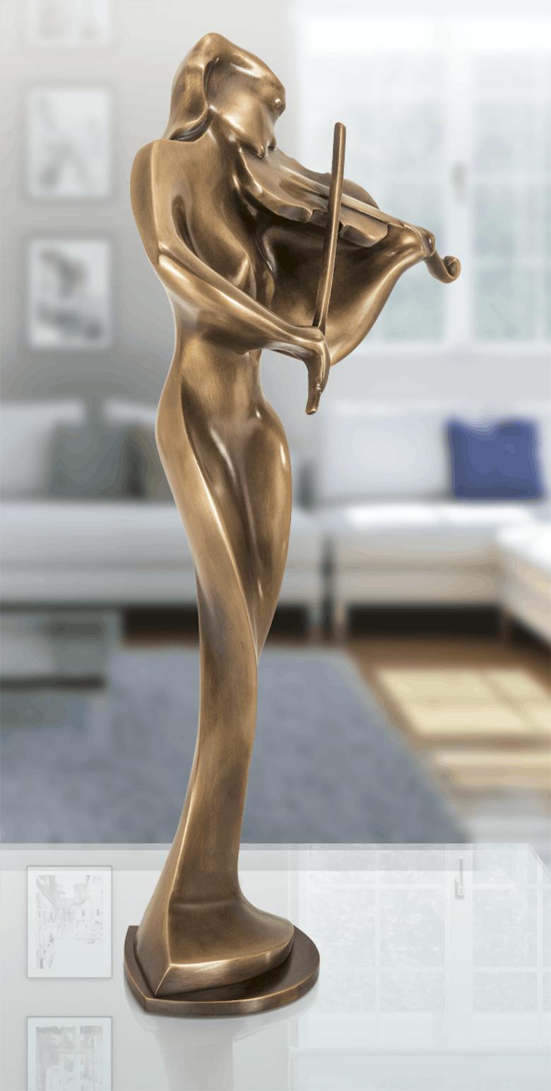 Bronzefigur Armonia von Robert Simon