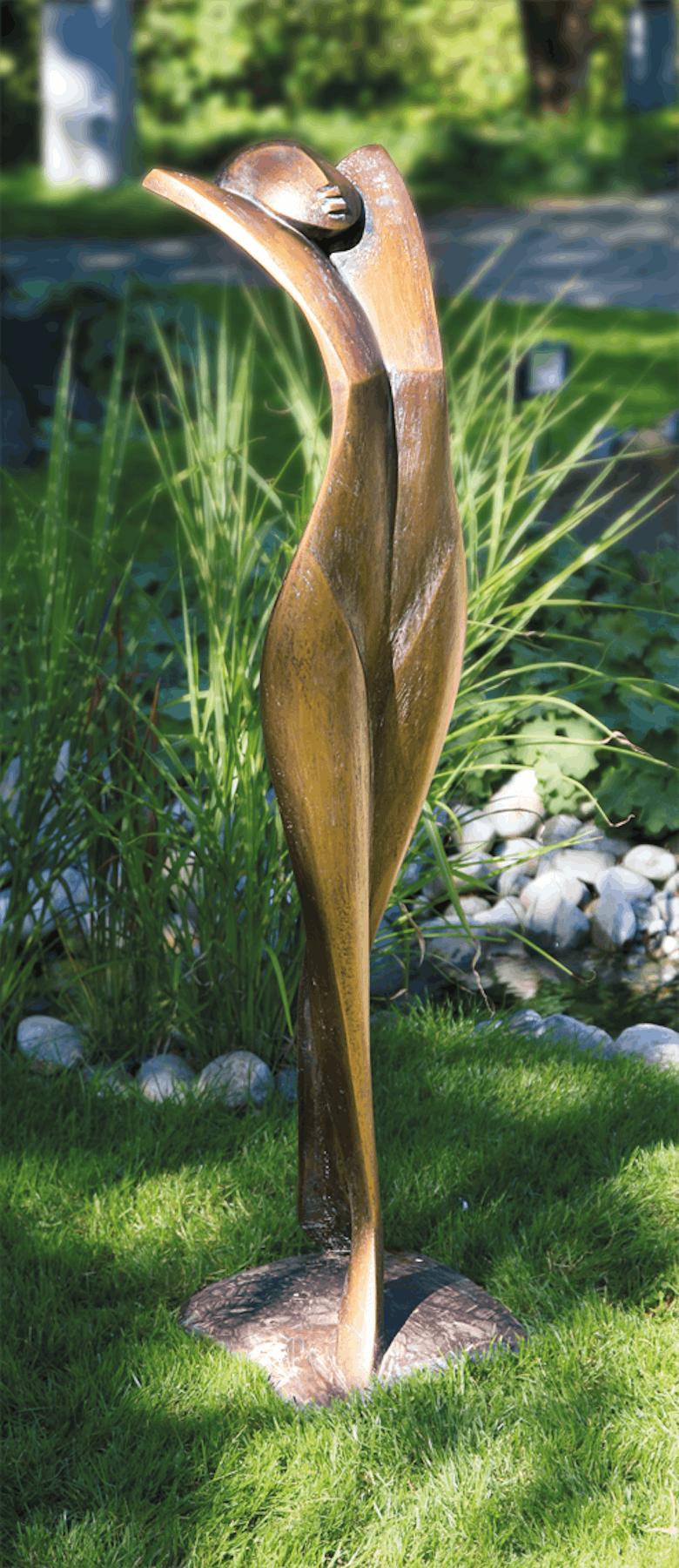 Bronzefigur Akt von Pepi Pescollderungg