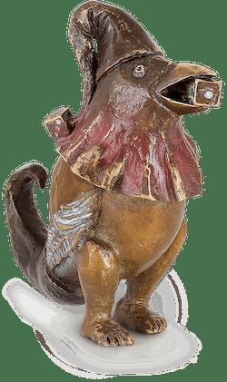 Bronzefigur Oiseau Au von Agnès Boulloche