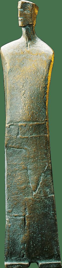 Bronzefigur Berater von Christiane Raschke