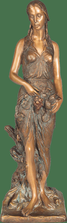 Bronzefigur Herbst von Romano Cosci