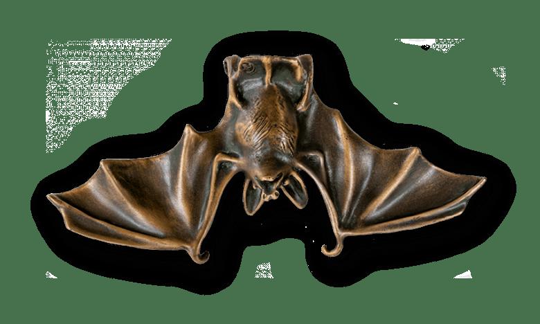 Bronzefigur Fledermaus Gabriel von Atelier Strassacker