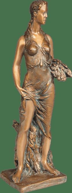Bronzefigur Sommer von Romano Cosci