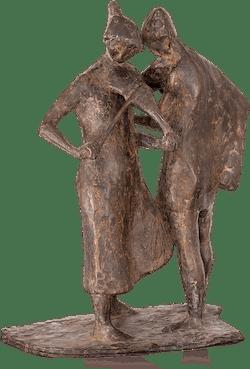 Bronzefigur Instrumentenstimmer von Manfred Welzel