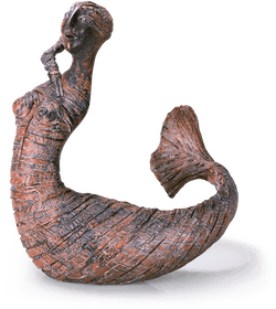 Bronzefigur Melu-Tina primadonna von Bettina  Scholl-Sabbatini