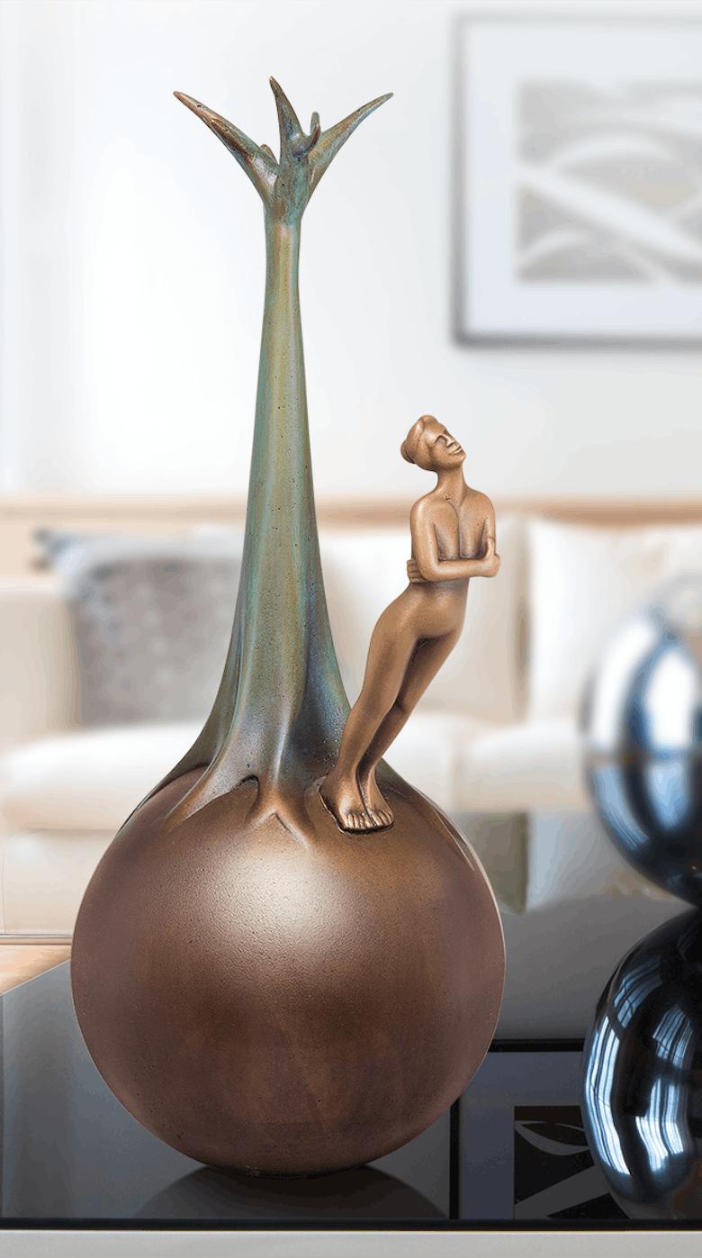 Bronzefigur Bellerophon von Andrea Bucci