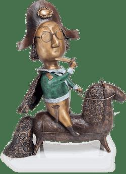 Bronzefigur Napoleon von Natalia Obada