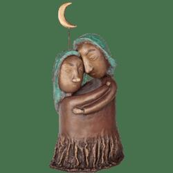 Bronzefigur »Happiness« von Natalia Obada