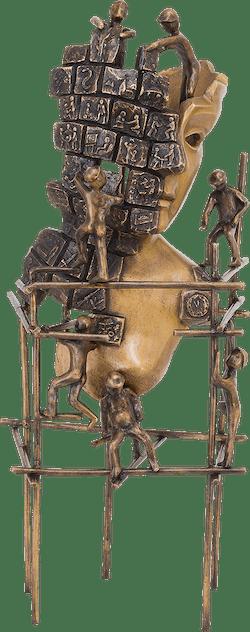 Bronzefigur Genitichaous von Robert Simon