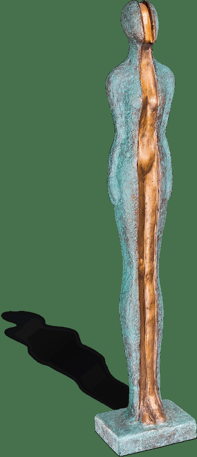 Bronzefigur Enthüllung von Andrea Kraft
