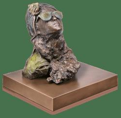 Bronzeskulptur Sternsucher 1