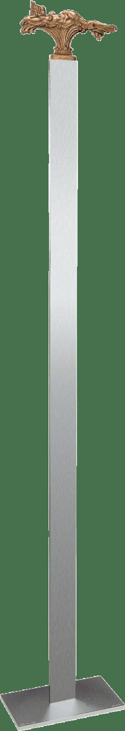 Bronzefigur Liegende Versuchung, Standvariante von Ernst Fuchs