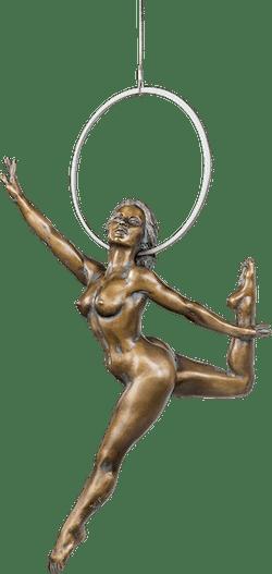 Bronzefigur »Hadar« von Karin Lutz