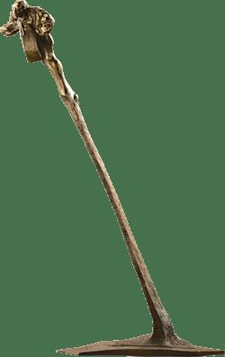 Bronzefigur Toller Mensch von Woytek