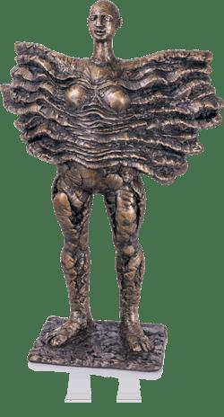 Bronzefigur Aphrodite VII von Istvan Herold