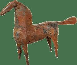 Bronzefigur Pferd von Hermann Schwahn