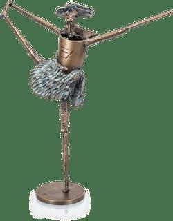 Bronzefigur Tänzerin von Ulrich Barnickel