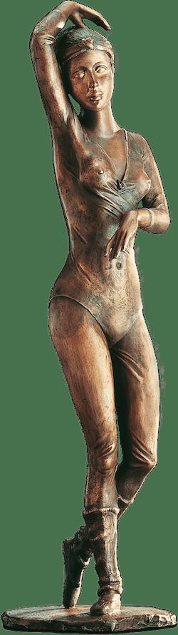 Bronzefigur Kleine Ballerina von Erwin A. Schinzel