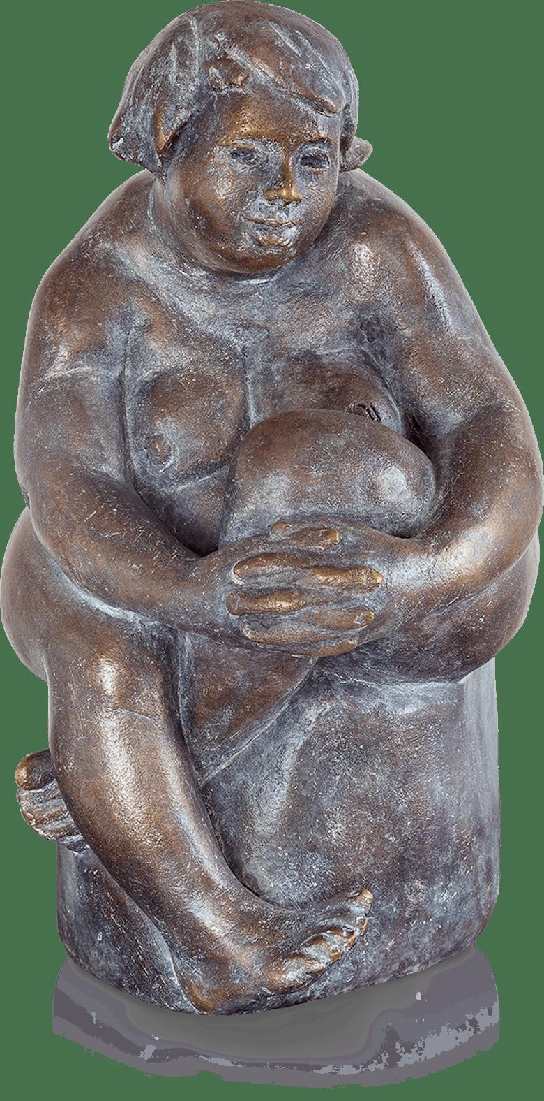 Bronzefigur Susanna von Friedhelm Zilly