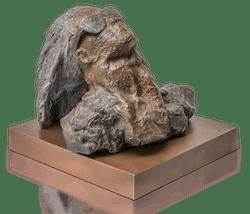 Bronzeskulptur Sternsucher 2
