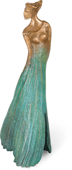 Bronzefigur Ginkgo Androgyn von Maria-Luise Bodirsky