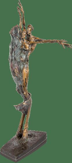 Bronzefigur Sommer von Woytek