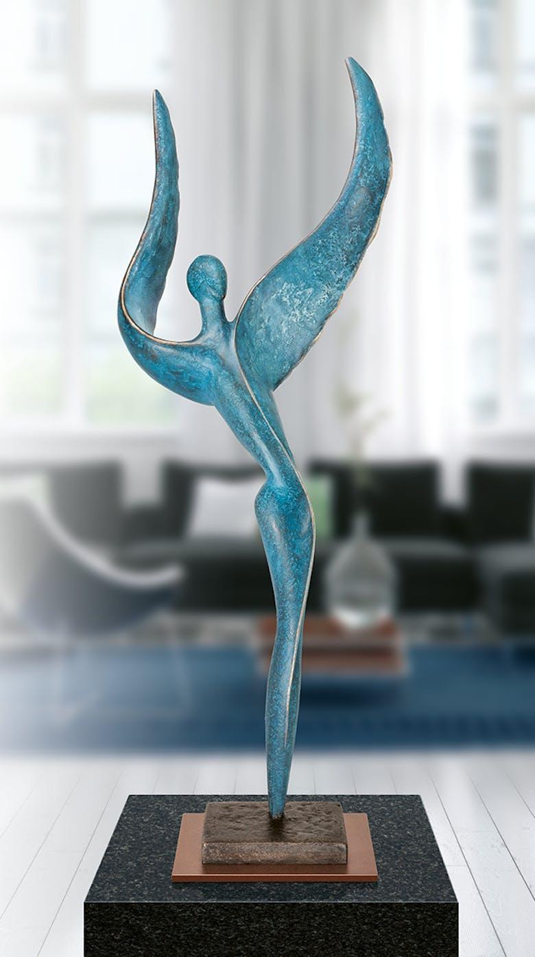Bronzefigur »Cosmic Dancer VI« von Andrea Kraft