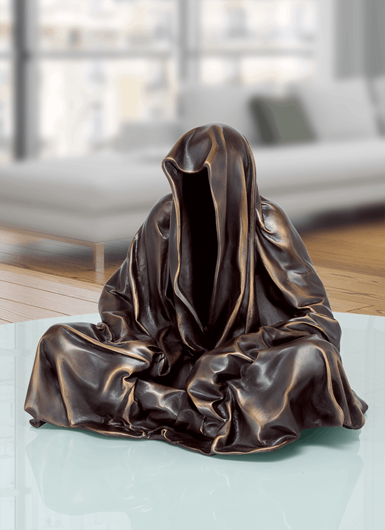 Bronzefigur Guardian von Manfred Kielnhofer