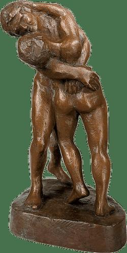 Bronzefigur Hingabe von Kurt Ewald