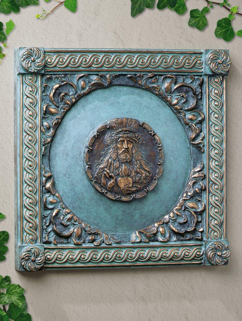 Bronzefigur Herz Jesu von Ernst Fuchs