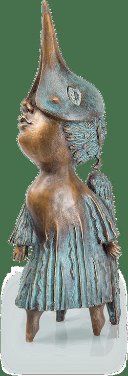 Bronzeskulptur-Himmeltraum