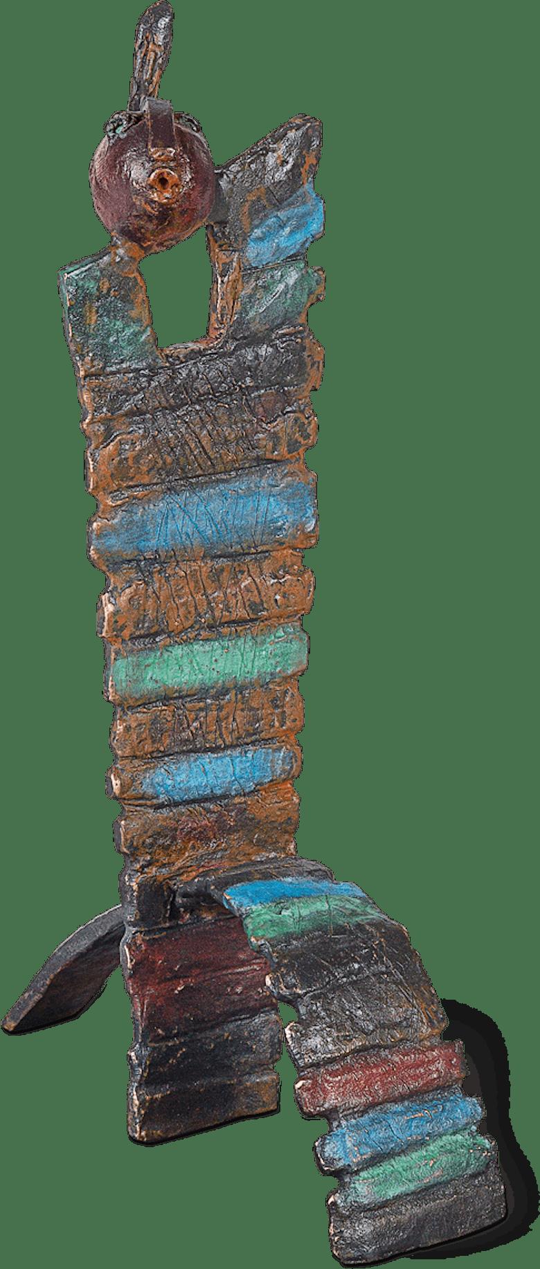 Bronzefigur Chaise magique I von Bettina  Scholl-Sabbatini