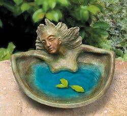 Bronzefigur Nixenschale (Boden) von Maria-Luise Bodirsky