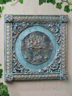 Bronzefigur Dagon von Ernst Fuchs